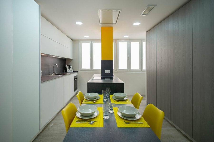 Una cocina en Cádiz